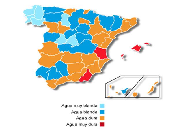 Tipos de agua en España