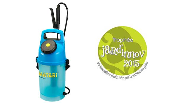 Premio Jard´innov 2015 al pulverizador Evolution 7