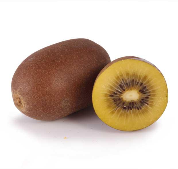 Frutos de kiwi amarillos