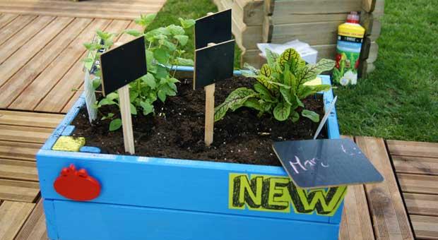 Nuevas mesas de cultivo para el huerto urbano