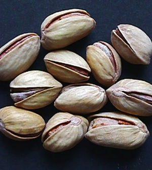 Frutos de pistachos