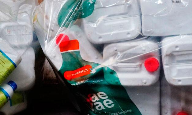 Más puntos de recogida de envases agrarios para su reciclado
