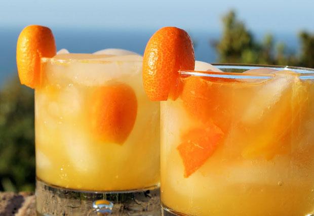 Recolección y consumo del kumquat