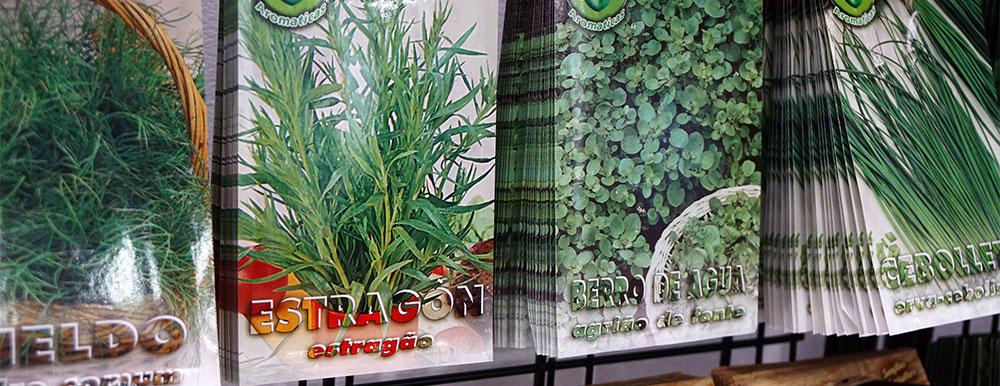 Semillas horticolas y aromáticas