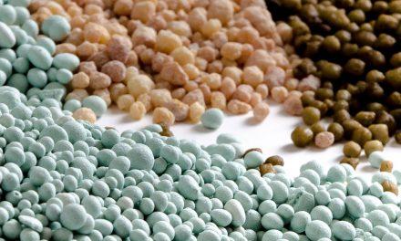 Fertilizantes granulados