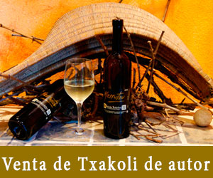 Venta de Txakoli de autor